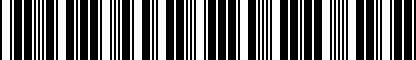 Barcode for NPN075030